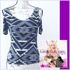 Material girl Fitted Top
